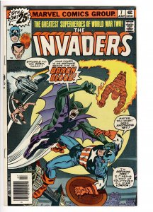 INVADERS 7 1st APPEARANCE UNION JACK;FILM? GO COLLECT SPEC.