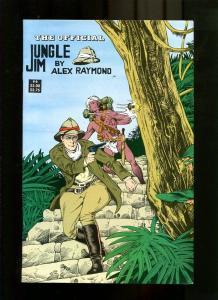JUNGLE JIM 6-1988-ALEX RAYMOND ART COVER-SHOOTING GUN VF/NM