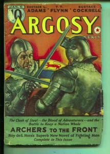 Argosy-Pulp-Jan-1940-T. T. Flynn-Jack Mann-Garnett Radcliffe