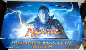 Modern Masters 2017 Booster Box MTG empty NO PACKS
