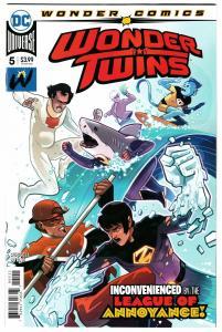 Wonder Twins #5 Main Cvr (DC, 2019) NM