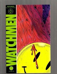 Watchmen Complete DC Comics LTD Series # 1 2 3 4 5 6 7 8 9 10 11 12 A. Moore SB5