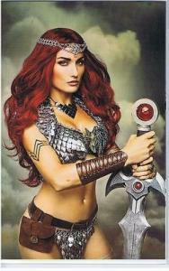 RED SONJA #4, NM-, She-Devil, Vol 4, Virgin CosPlay, 2016, more RS in store