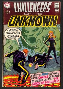 Challengers Of The Unknown #70