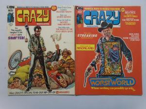 Crazy Magazine Set:#2-9, Average 4.0/VG (1974)
