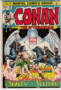 Conan the Barbarian #22 (Jan-73) FN/VF Mid-High-Grade Conan the Barbarian