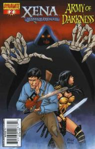 Xena/Army of Darkness: What…Again?! #2A VF/NM; Dynamite | save on shipping - det