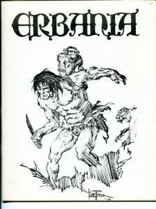 Erbania #45 1980 -Edgar Rice Burroughs-Tarzan-Frank Reyes-info-pix- FN/VF