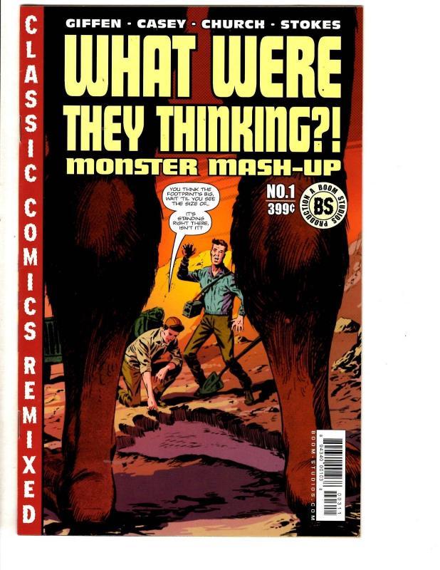 11 Comic Books Mash Up 1 + Abe Sapien 1 + American Gods # 1
