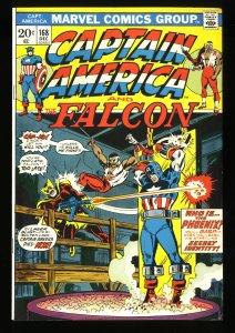 Captain America #168 VF 8.0 1st Helmut Zemo!