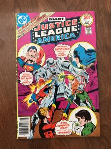 Justice League of America #142  (DC Comics; May, 1977) - Giant issue - Fine