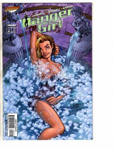 Lot Of 4 Danger Girl Image Comic Books # 2 3 (3) J Scott Campbell Variants J258