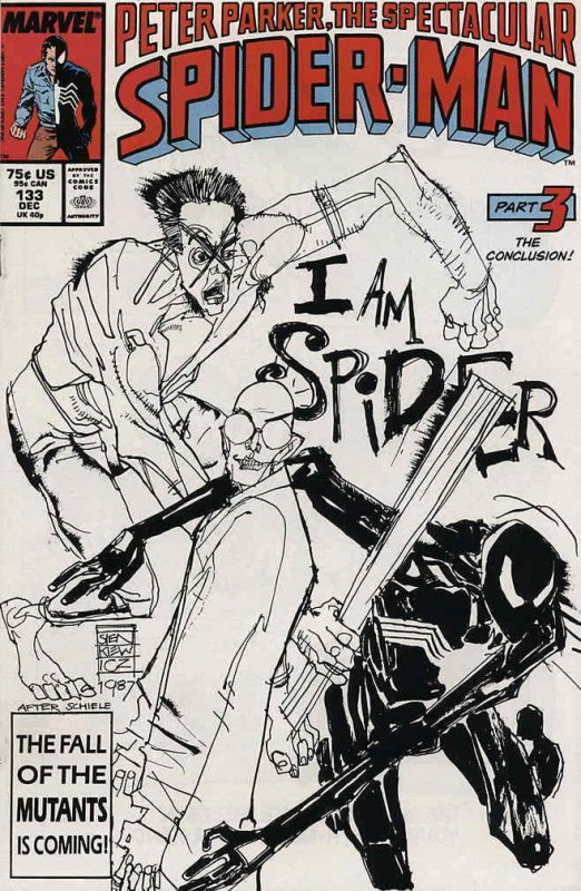 Spectacular Spider-Man, The #133 VF; Marvel | save on shipping - details inside