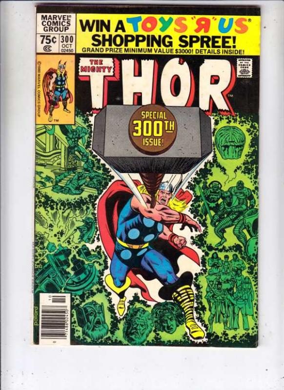 Thor, the Mighty #300 (Oct-80) VF/NM High-Grade Thor