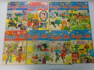 Silver + Bronze age Archie Comics Reggie lot 49 different avg 5.0 VG FN