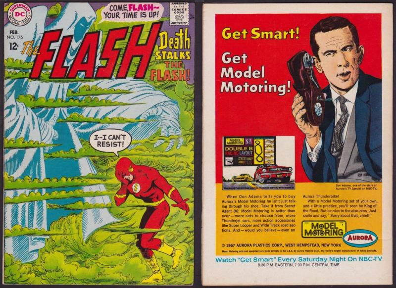The Flash #176 (Feb 1968, DC) VF