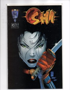 Crusade Comics Shi The Way of the Warrior #5 Variant Marc Silvestri Gold Edition