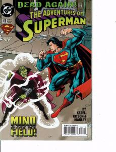 Lot Of 2 Comic Books DC Adventures of Superman #519 and Superman #26  ON8