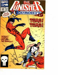 Lot Of 2 Comic Books Marvel Punisher #68 and #78 Thor Iron Man    MS17