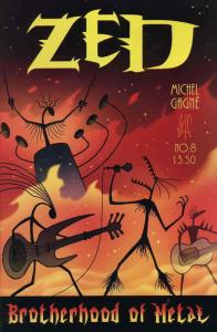 Zed #8 VF/NM; Gagne | save on shipping - details inside