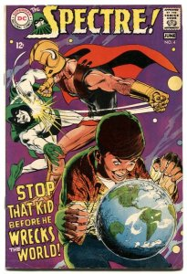 Spectre #4 1968-Neal Adams cover- DC comics VG