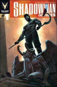 Shadowman: End Times #1A FN; Valiant | save on shipping - details inside