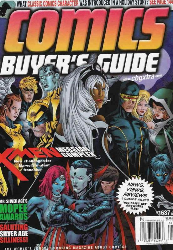 Comics Buyer's Guide #1637 FN; F&W | save on shipping - details inside