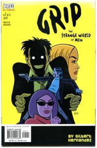 GRIP STRANGE WORLD of MEN #1 2 3 4 5, VF/NM, 2002, more Hernandez in store