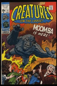 Creatures on the Loose #11 VF/NM 9.0