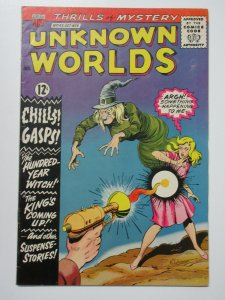Unknown Worlds (ACG October 1965) #43 Fine Chills Gasps! 100 Year Old Witch