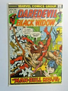Daredevil #95 1st Series detached cover 2.0 (1973)