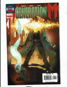 Lot Of 10 Marvel Comics Generation M # 1 2 3 4 5 + Son Of M # 1 2 3 4 5 CJ18