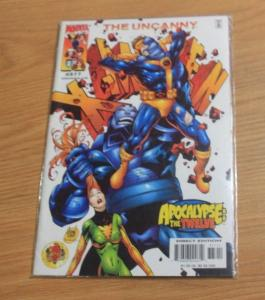 UNCANNY X-MEN #377 2000, Marvel  APOCALYPE THE TWELVE CABLE AOA