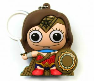 Batman v Superman BVS Wonder Woman Laser Cut Key Ring / Keychain - New!