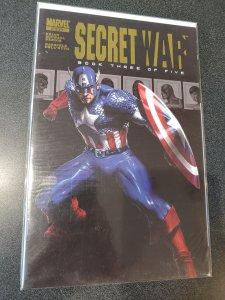 SECRET WAR #3 DELL OTTO COVER