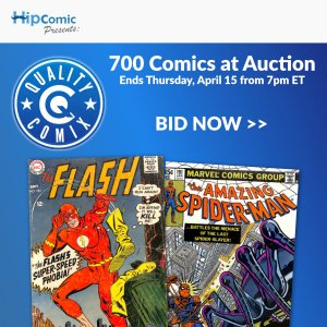Quality Comix Auction Event #43