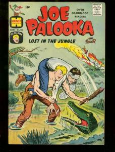JOE PALOOKA #115 '60 GATOR COVER HARVEY SEMINOLE INDIAN VF