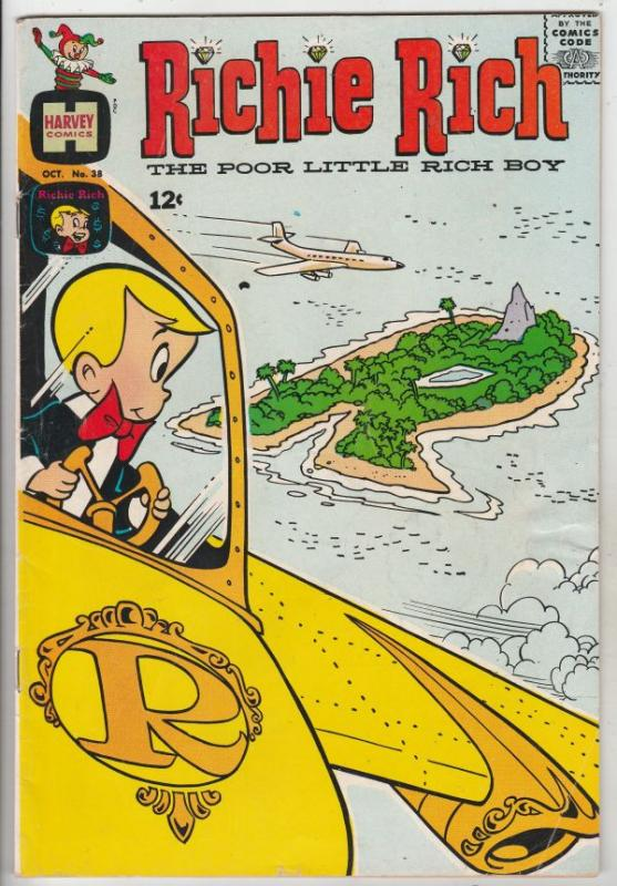 Richie Rich #38 (Oct-65) FN/VF Mid-High-Grade Richie Rich