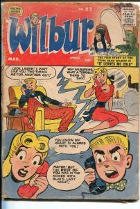 Wilbur #65 1956-Archie-Katy Keene-spicy art-P/FR