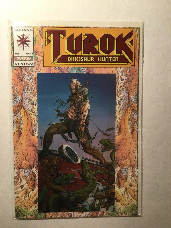 Turok Dinosaur Hunter 1 Near Mint Nm Valiant