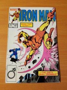 Iron Man #187 ~ NEAR MINT NM ~ 1984 MARVEL COMICS