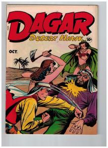 Dagar Desert Hawk # 20 VF/NM 1948 Fox Features GOLDEN AGE Comic Book Jungle JJ1
