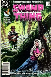 Swamp Thing (2nd Series) #54 (Newsstand) FN; DC | save on shipping - details ins