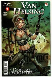 Van Helsing vs Draculas Daughter #1 Cvr C Otero (Zenescope, 2019) NM