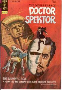 OCCULT FILES OF DOCTOR SPEKTOR 3 VF Aug. 1973 COMICS BOOK