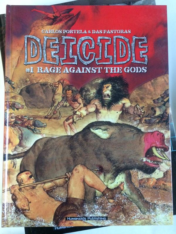 Deicide: Rage against the Gods by Pastoras and Portella (2005, HC) WHOLESALE x 3