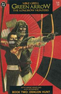 Green Arrow: The Longbow Hunters #2 VF; DC | save on shipping - details inside