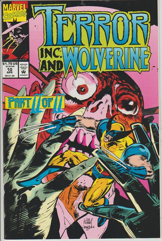 TERROR INC., AND WOLVERINE #10 - MARVEL - BAGGED & BOARDED