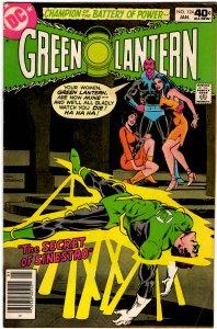 Green Lantern #124 (1960 v2) Joe Staton Carol Ferris Sinestro VF-