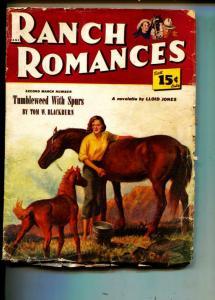 Ranch Romances-Pulp-7/8/1949-Lloid Jones-Tom W. Blackburn